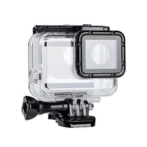 Galleria fotografica Suptig sostituzione impermeabile custodia protettiva per GoPro Hero 6Hero 5camera per uso subacqueo di sport esterni–resistente all' acqua fino a 44,8m (45m)