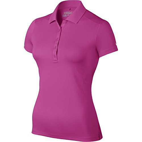 Nike Victory Polo à manches courtes Femme Hot Pink/white