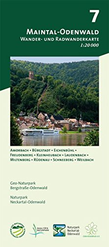 Blatt 7, Maintal-Odenwald: Wander- und Radwanderkarte 1:20.000. Mit Amorbach, Bürgstadt, Eichenbühl, Freudenberg, Kleinheubach, Laudenbach, ... und Naturpark Neckartal-Odenwald)