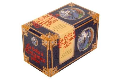 La boîte à Enigmes junior : Un jeu pour devenir un grand maître des mondes fantastiques !