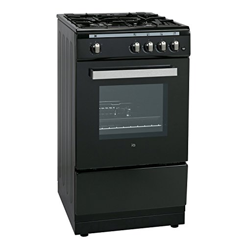 41%2BKI7oBN0L. SS500  - iQ 50cm Single Cavity Gas Cooker Black