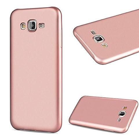 GrandEver Coque Samsung Galaxy J5 2015 TPU Solid Silicone Gel