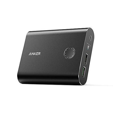 [Quick Charge 3.0] Anker PowerCore+ 13400 : Batterie Externe Premium 13400 mAh en Aluminium avec Technologie Qualcomm QC 3.0 Rétrocompatible Toutes Versions Quick