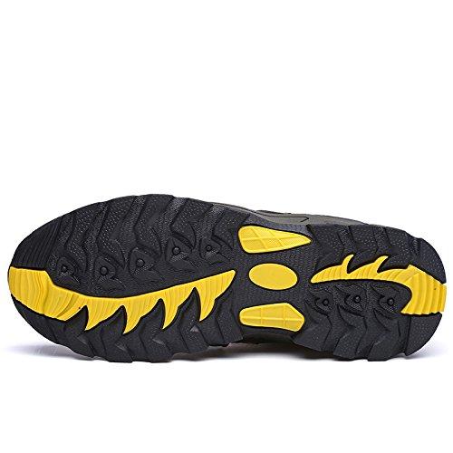 Z&HX sportsSports de plein air chaussures de randonn¨¦e une couche de tissu respirant antid¨¦rapant antid¨¦rapant hommes et femmes Purple