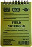 Bushcraft BCB Waterproof Field Notebook With Pencil - White