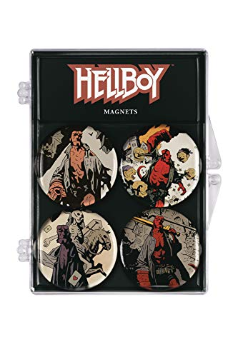 Dark Horse Comics Hellboy Set de 4 imanes, Multicolor (3004-964)