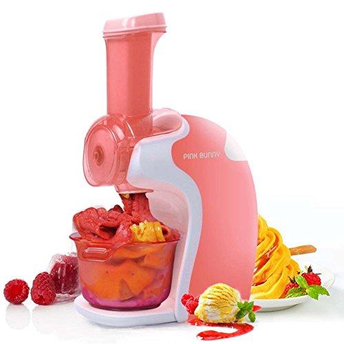 Macchina portatile per gelato alla frutta macchina per gelato artigianale,pink