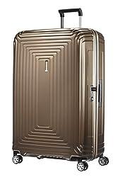 Samsonite Neopulse - Spinner XL Koffer, 81 cm, 124 L, braun (Metallic Sand)