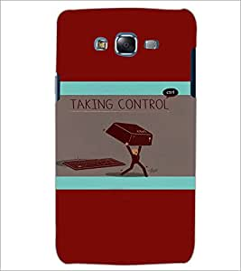 PrintDhaba Funny image D-4979 Back Case Cover for SAMSUNG GALAXY ON 5 (Multi-Coloured)