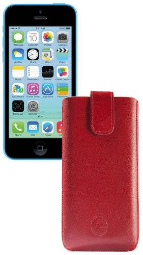 favory Étui de pour/Iphone 5C rouge