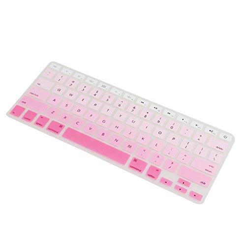 Homyl Tastaturschutz Silikon Haut Keyboard Abdeckung Schutz Folie für Macbook Air 13'' 15'' 17