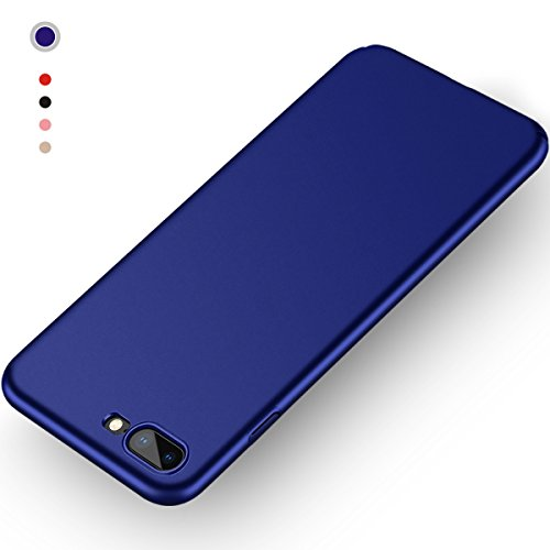 Aollop Hülle für iPhone 7 Plus/iPhone 8 Plus, Ultra Dünn,Staubschutz,Anti-Kratz Schutzhülle, Federleicht Hülle Bumper Cover Schutztasche für iPhone 7 Plus/iPhone 8 Plus(5.5 Zoll-Dunkel blau) Single Use-video-kamera