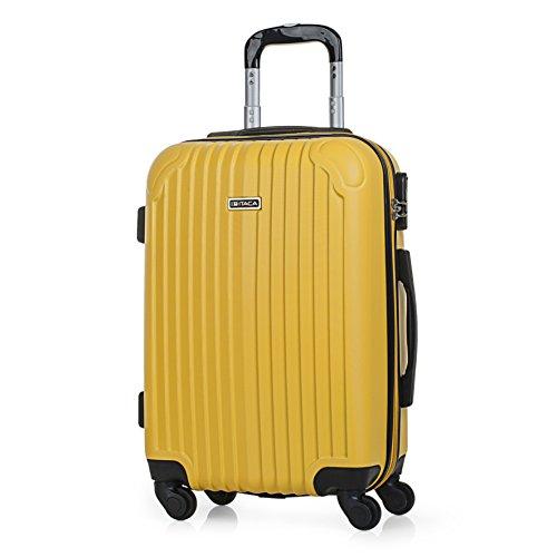 ITACA - T71550 Maleta trolley 50 cm cabina ABS. Equipaje de mano. Rígida y...