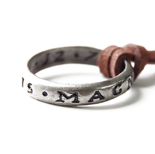 Uncharted Nathan Drake's Ring with Necklace Strap From Collector's Edition by Uncharted