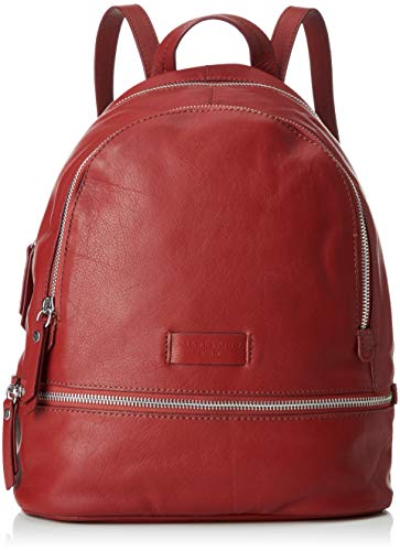 Liebeskind Berlin Damen Essential Lotta Backpack Small Rucksackhandtasche, Rot (Italian Red), 11x32x26 cm