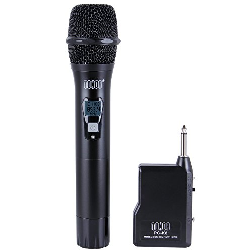 VHF Funkmikrofon Drahtlose Handmikrofone Wirelesse Microphones für zu Hause Kirche Karaoke KTV Konzerte Konferenz Geschäftliche Sitzung