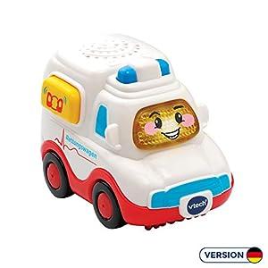 VTech Tut Tut Baby Flitzer 80-517004 vehículo de Juguete - Vehículos de Juguete (Azul, Rojo, Blanco, Coche, De plástico, 1 año(s), 5 año(s), Niño/niña)