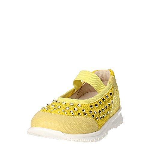 Florens E0337 Ballerinaschuhe Mädchen Gelb