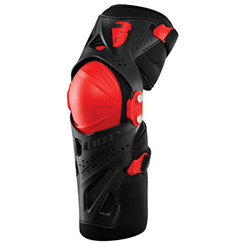 Thor Force Xp Knee Guards S17 Youth Knee Protection Junior Black Red