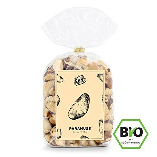 Preisvergleich Produktbild KoRo - Bio Paranusskerne 1 kg - Naturbelassene Paranüsse ohne Salz