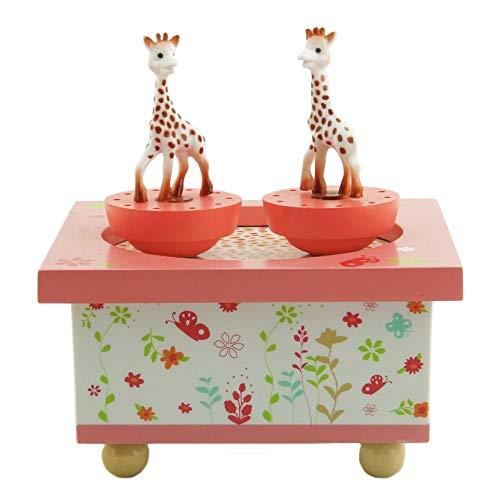 Trousselier T95061 Sophie, die Giraffe, Dreh-Spieluhr - 2