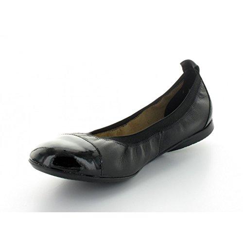 Ballerine Hirica Ycare, Couleur: Gris / Noir - Noir