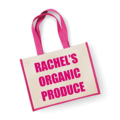 Große Jute Tasche personalisierbar Bio-Produkte Pink Tasche Mütter Tag Neue Mama Geburtstag Weihnachtsgeschenk - Große Wickeltasche Personalisierte