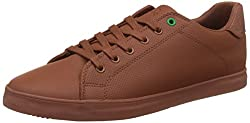 United Colors of Benetton Mens Brown Sneakers - 11 UK/India (45.5 EU) (17A8YESHFW52I906)