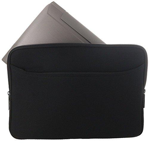 XiRRiX Ultrabook Notebooktasche Neopren Schutzhülle Universal mit zusätzlichem Zubehörfach für 35,6 cm (14 Zoll)