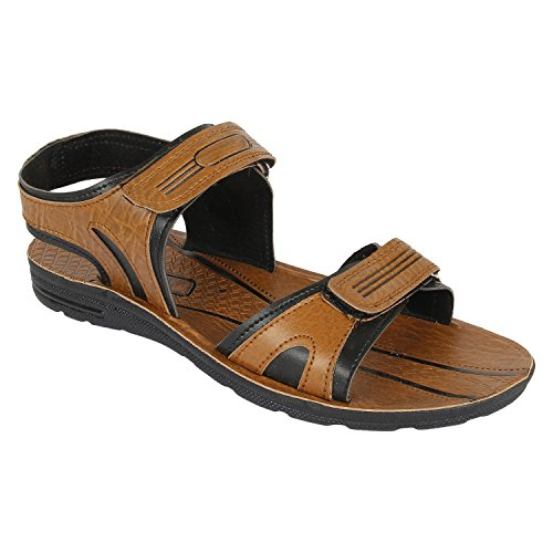 Super Men's Brown Sandals & Floaters (8 UK)  available at amazon for Rs.198