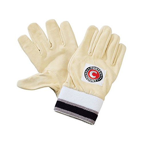 HUNTS COUNTY Full Chamois Handschuhe für Wicketkeeper Innenhandschuhe, xl