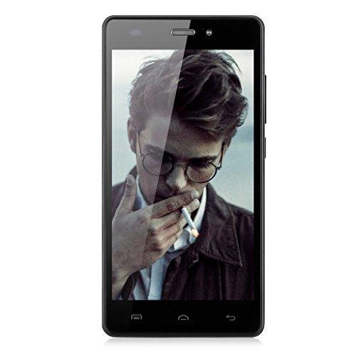 """Doogee X5 Pro - 5.1 """"pollici telefono mobile dello schermo 4G LTE FDD Smartphone Sim Free Dual SIM Quad-Core capacitivo HD 2 GB + 16 GB WIFI GPS nero"""