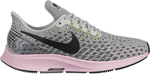 lowest price 8a14f da678 Nike Damen WMNS Air Zoom Pegasus 35 Leichtathletikschuhe Mehrfarbig (Vast  Grey Black Pink Foam Lime Blast 011) 40 EU