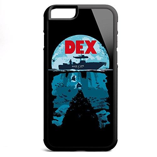 Smartcover Case Deep Secrets z.B. für Iphone 5 / 5S, Iphone 6 / 6S, Samsung S6 und S6 EDGE mit griffigem Gummirand und coolem Print, Smartphone Hülle:Iphone 5 / 5S weiss Iphone 6 / 6S schwarz