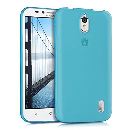 kwmobile Hülle für Huawei Y625 - Ultra Slim Case Handy Schutzhülle TPU Silikon - Backcover Cover Blau