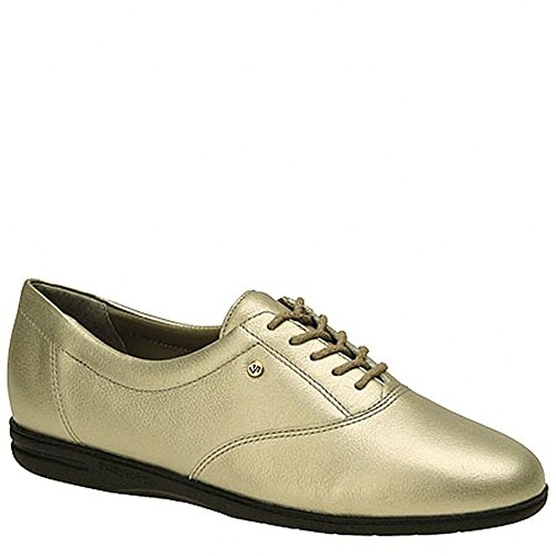 Easy Spirit Women's Motion Sport Lace Up,Navy Leather,10 D Pewter Leather