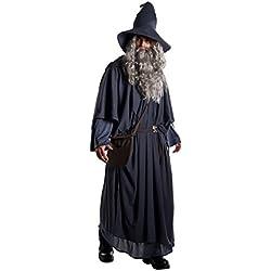 Disfraz de mago Gandalf para hombre.