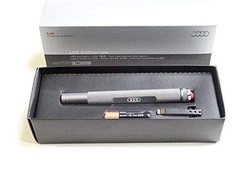 Preisvergleich Produktbild Audi LED Aluminium Taschenlampe / Stiftlampe / Lampe 2.Generation