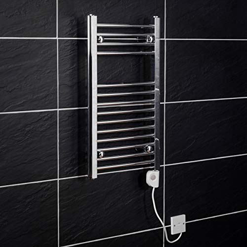 elektro handtuchhalter WarmeHaus Elektrischer Handtuchheizkörper, Elektro Badheizkörper 700x400 Chrom