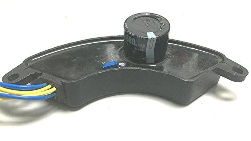 yamasco un 4kVA a 6,5kvap 250V 470uF AVR automática de voltaje regulador rectificador 4kw-6kw Generador 4kva-6kva plástico negro tipo