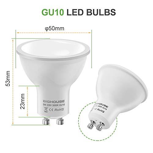 Bighouse 6 Bombillas LED GU10