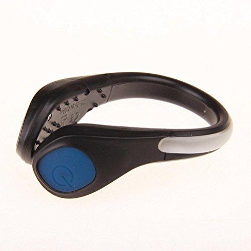 LED Luminous Shoe Clip Light, Gusspower Sport Reflektoren Running Gear, Night Sicherheit Schuh Light Warnung and Stetig LED Luminous Reflective Accessories, für Bike Radfahren, Laufen, Sport, Einkaufen, Klettern - Bike-schuhe Und-clips