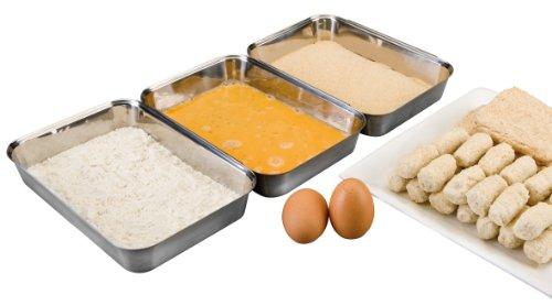 Ibili 753200 Breading, 3 Stück
