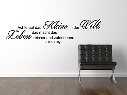 Carl Hilty Das Kleine Wandtattoo Black Certified Freak