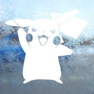 ite Decal Pikachu Card Game Laptop Window White Sticker (Ist Pikachu Ein Junge Oder Ein Mädchen)