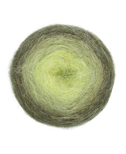 Pro Lana Woolly Hugs Bobbel Mohair, Fb. 203, 4-fädig, 150g / 500m Bobbel mit Mohair und wunderschönem Degradé Farbverlauf