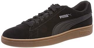 Puma Unisex Adult Smash V2 Low-Top Sneakers, Black (Puma Black-Puma Black 15), 9 UK (43 EU) (B077CY72R6) | Amazon Products