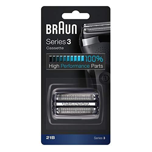 Braun Series 3 21B Elektrischer Rasierer Scherkopfkassette - schwarz