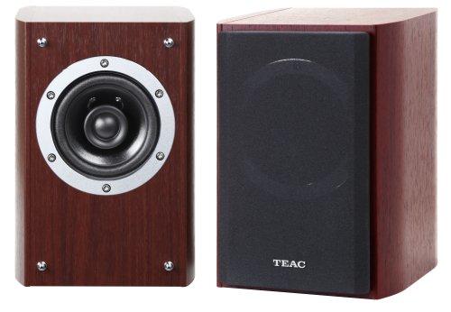 Teac LS-301 (CH) 2-Wege Koaxial-Lautsprecher (10 cm Tieftöner, 2 cm Hochtöner, Air Direct Center Pole System) kirschholzfarben