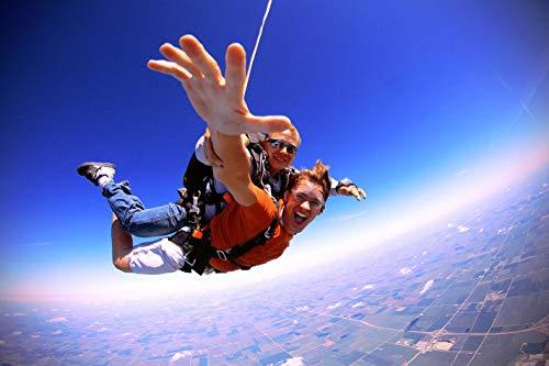 Jochen Schweizer Geschenkgutschein: Fallschirm Tandemsprung in Most (Tschechien) - Geschenk zu Weihnachten